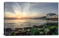 Swanage Bay., Canvas Print