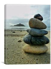 Zen at St Michaels Mount, Canvas Print