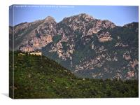 Solitary, Italy, Canvas Print