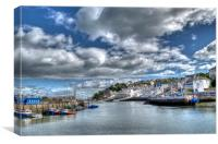 Brixham, Canvas Print