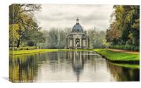 The Pavillion Wrest Park, Canvas Print