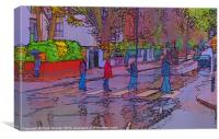 Abbey Road Crossing, Canvas Print