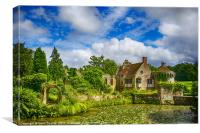 Scotney Castle 5, Canvas Print