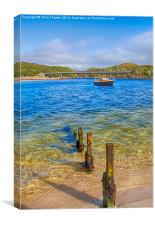 Silver Sands of Morar 5, Canvas Print