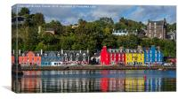 Colourful Tobermory, Canvas Print