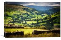 The Yorkshire Dales, Canvas Print