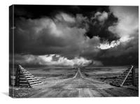 The road to Nowhere?, Canvas Print