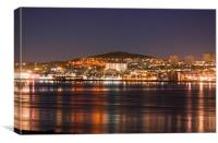 Dundee lights, Canvas Print