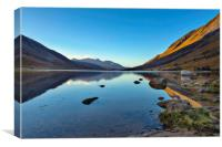 Loch Etive morning view, Canvas Print