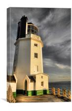 afternoon at the lighthouse, Canvas Print