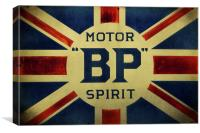 BP Motor Spirit, Canvas Print