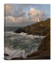 Trevose Lighthouse, Canvas Print