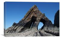 Blackchurch Rock - N Devon, Canvas Print