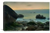 Porth Nanven - Cornwall, Canvas Print