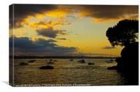 Lympstone, Canvas Print