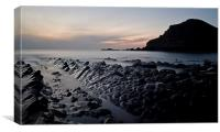 Hartland Twilight, Canvas Print