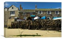 Mousehole in Cornwall, Canvas Print