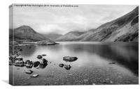 Wast water, Canvas Print