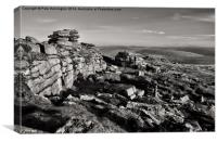 Great Mis Tor, Canvas Print