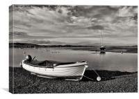 River Exe Estuary, Canvas Print