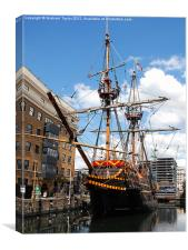 The Golden Hind - London, Canvas Print