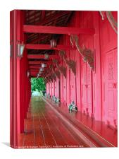 Langkawi Summer Palace, Canvas Print