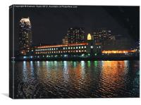 Downtown Minneapolis, Canvas Print