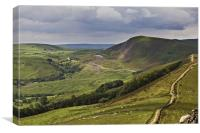 Losehill To Mam Tor, Canvas Print