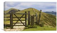 Towards Win Hill, Canvas Print