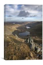 Small Water & Haweswater, Canvas Print