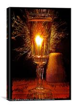 Champagne and Sparkles, Canvas Print