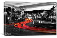 Skipton Town Centre, Canvas Print
