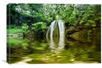 Dingley Dell, Canvas Print