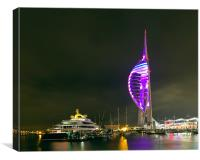 Spinnaker Tower, Portsmouth, Canvas Print