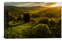 Dalescapes: A Slice Of Heaven In Swaledale, Canvas Print