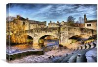 Pack Horse Bridge, Canvas Print