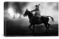 Cavalry Charge, Canvas Print