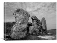West Kennet Long Barrow, Canvas Print