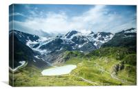 The Swiss Alps #4, Canvas Print