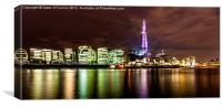 The Shard Lasers, Canvas Print