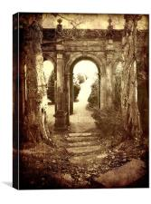 The Old Archway, Canvas Print