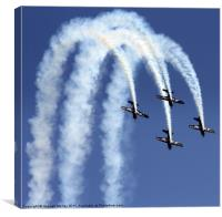 Airbourne, Eastbourne, Canvas Print