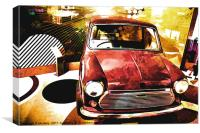 Retro Mini Dreams, Canvas Print