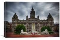 George Square, Canvas Print