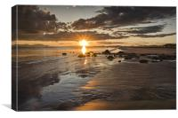 Coastal Sunset, Canvas Print