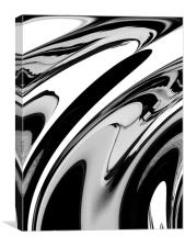 Black and  White, Canvas Print