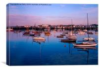 Yacht Mooring Howth Harbour, Canvas Print