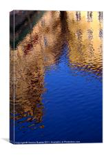 Reflections of Prague, Canvas Print