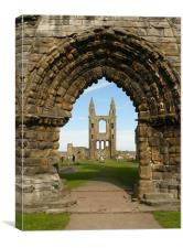 St Andrews Cathedral, Canvas Print