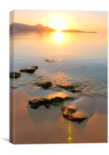 Sunrise Reflections, Canvas Print